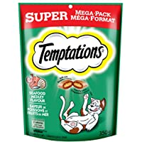 Temptations Treats for Cats - Seafood - 350g