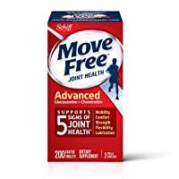 Glucosamine & Chondroitin Advanced Joint Health Supplement Tablets, Move Free (200...