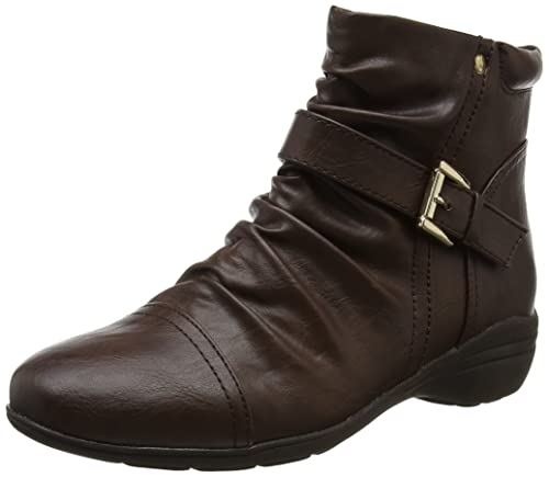Clearance For Sale 2018 Cheap Sale Womens Ruched Ankle Chelsea Boots EVANS Inexpensive Cheap Online Genuine For Sale u3wiul