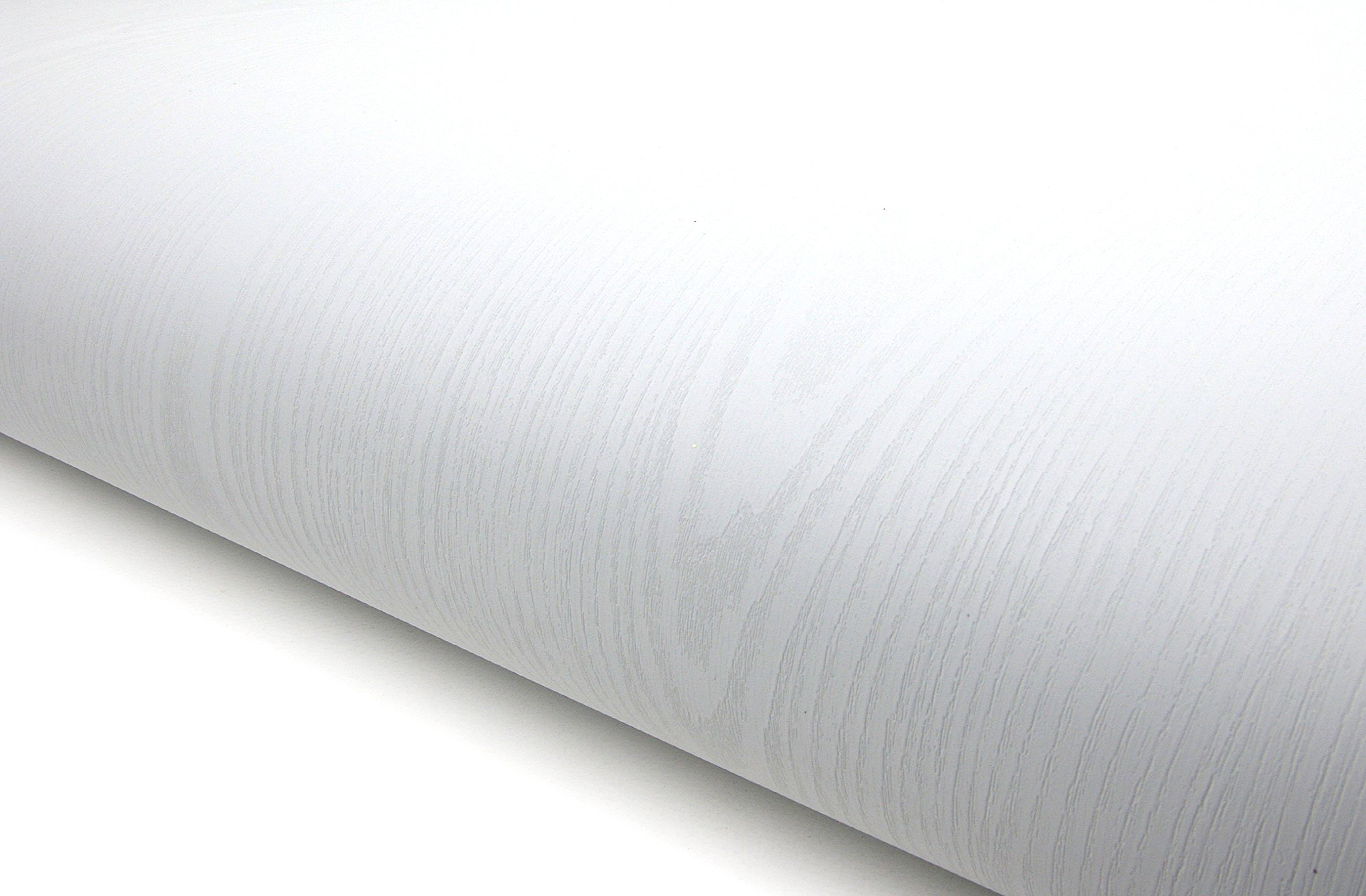 Wood Pattern Texture Contact Paper Film Vinyl Self Adhesive Peel-stick Removable (VBS868(white))
