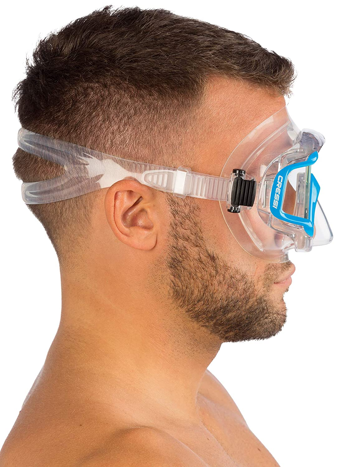 Pano 3 /& Supernova Dry Scuba Diving designed in Italy Cressi Panoramic Wide View Mask /& Dry Snorkel Kit for Snorkeling