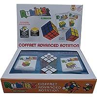 Collection Rubik's Cube | Pack de cubes Rubik's Cubes 2x2 et 3x3 originaux, packs de 2 puzzles classiques de correspondance de couleurs, avec son Guide de poche