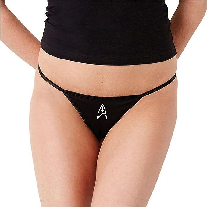 efc840bda5d9 Sexy Baby Bunny Underwear Star Trek Federation Women's Bikini Thong, Small