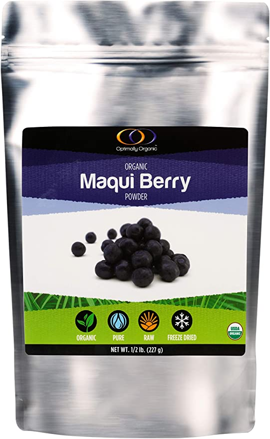 Amazon Com Organic Freeze Dried Maqui Berry Powder 3 Times More