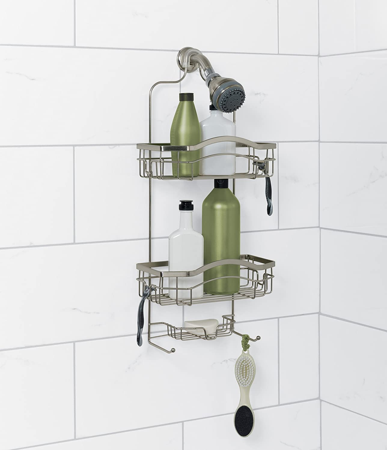Over-the-Showerhead Stainless Steel