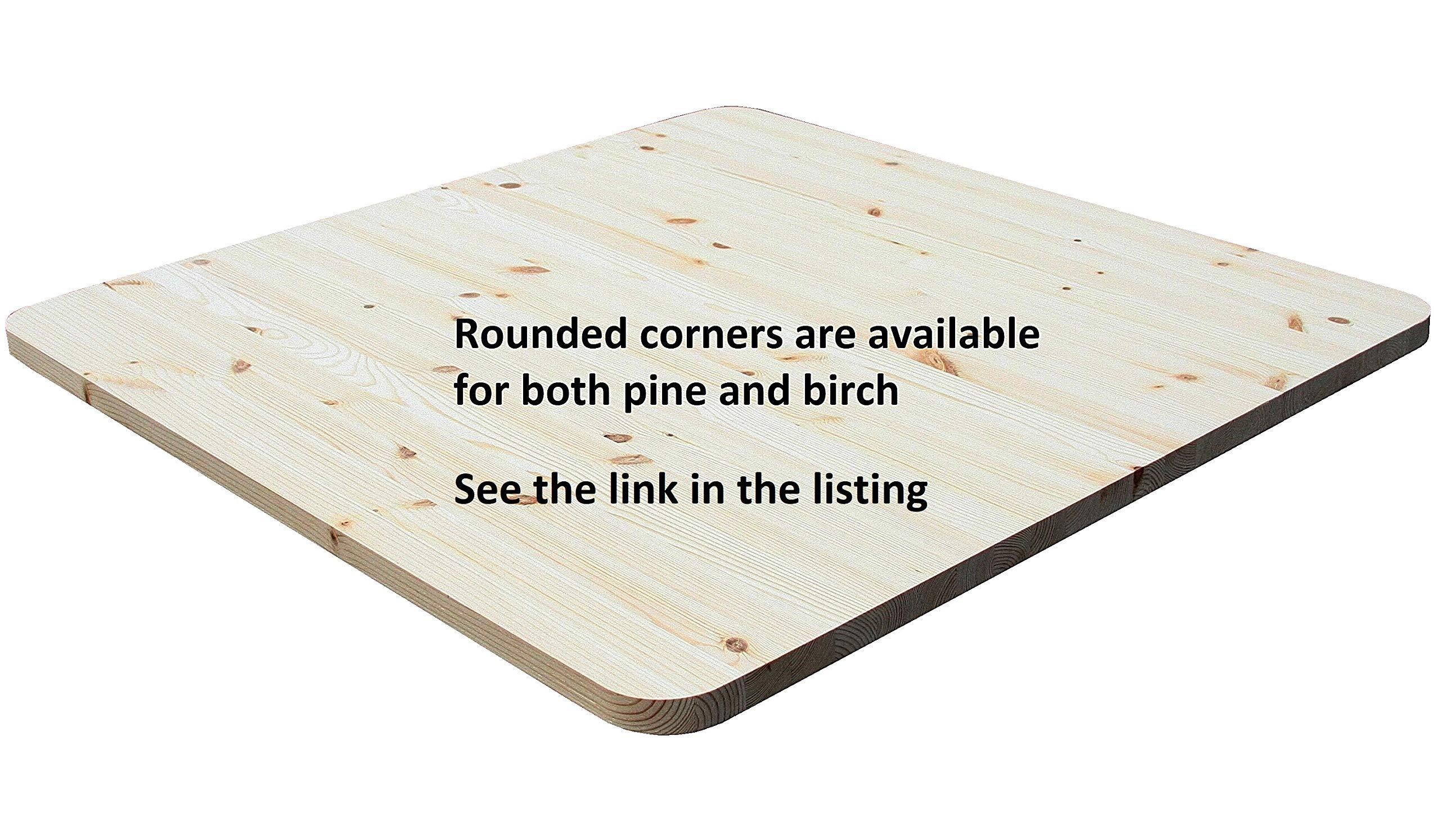 Allwood 1'' x 48''x 72'' Pine Table/Counter/Island Top