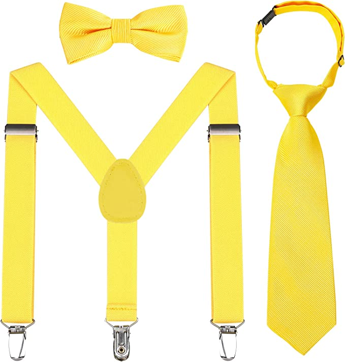 Juego de corbatas para niños, ajustables, elásticas, clásicas ...