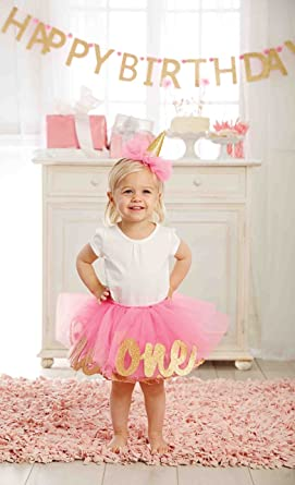 baby stores near me Mud Pie Baby Girl's Birthday Tutu Dress