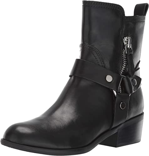 Size 9.0 Marc Fisher Women/'s Dalary Motorcycle Boot Medium Brown