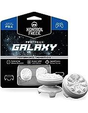 KontrolFreek FPS Freek Galaxy Bianco per PlayStation 4 (PS4) | Performance Thumbsticks Copri Joystick di Gioco | 1 levetta alta, 1 di media altezza | Bianco