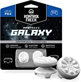 KontrolFreek FPS Freek Galaxy White for PlayStation 4 (PS4) Controller | Performance Thumbsticks | 1 High-Rise, 1 Mid…