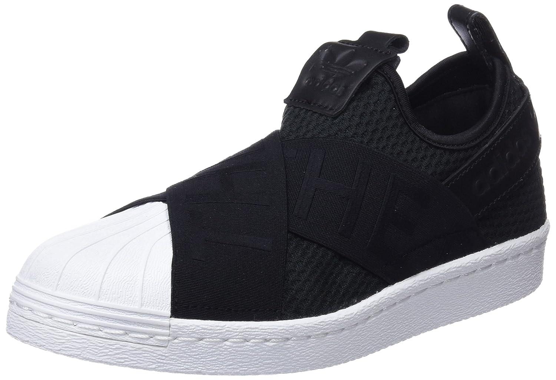 Adidas Superstar Slipon W, Zapatillas de Deporte Para Mujer 36 EU|Negro (Negbas / Negbas / Ftwbla 000)