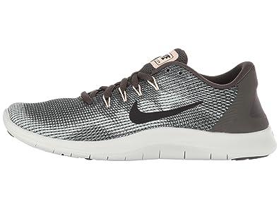 00f0c276edcc6 Nike Damen WMNS Flex 2018 Rn Laufschuhe Mehrfarbig (Newsprint Black Dark  Stucco
