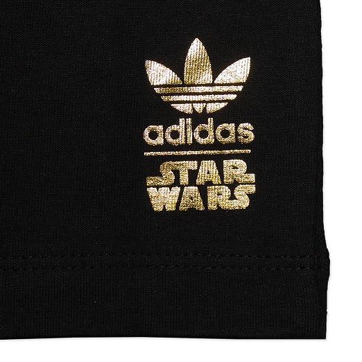 Adidas Originals Junior Star Wars Death Star T - Shirt negro Youth Tee