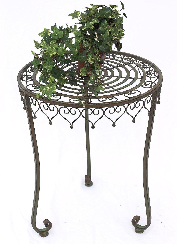 DanDiBo Beistelltisch Malega 12189 Tisch 55 cm Kaffeetisch aus Metall Couchtisch XL