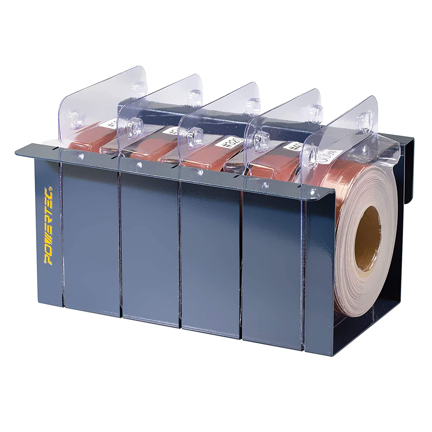 320 Emery Paper Assortment  Easy Cut 5 Roll Sand Paper Dispenser and Tear Off Bar 240 Grit sizes 150 600 POWERTEC 4RA2101 Sandpaper Multi Roll Pack in Sturdy Metal Box  AO Abrasive 400