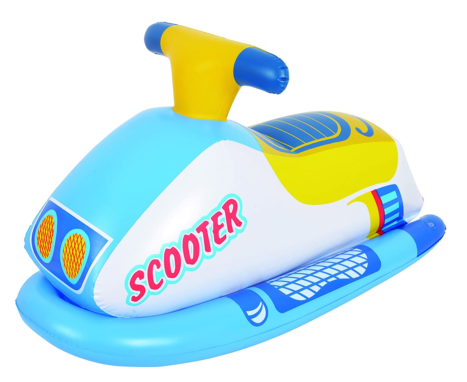 MOTO ACUATICA INFANTIL PLAYA SCOOTER HINCHABLE PLAYA 91X51CM ...