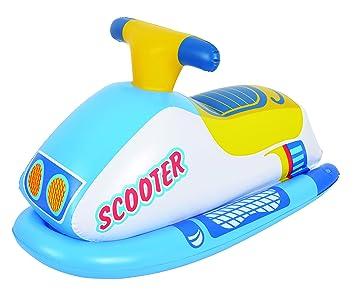 MOTO ACUATICA INFANTIL PLAYA SCOOTER HINCHABLE PLAYA 91X51CM ...