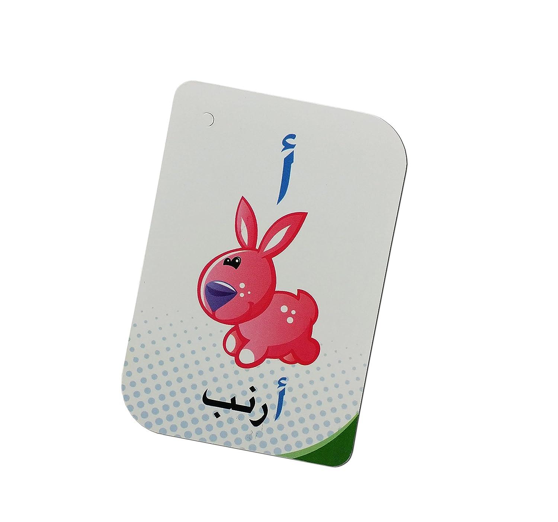 Alphabet Cardpaper Arabic Alphabet Flash Cards Arabic Flashcards for Children and Pre-Schoolers