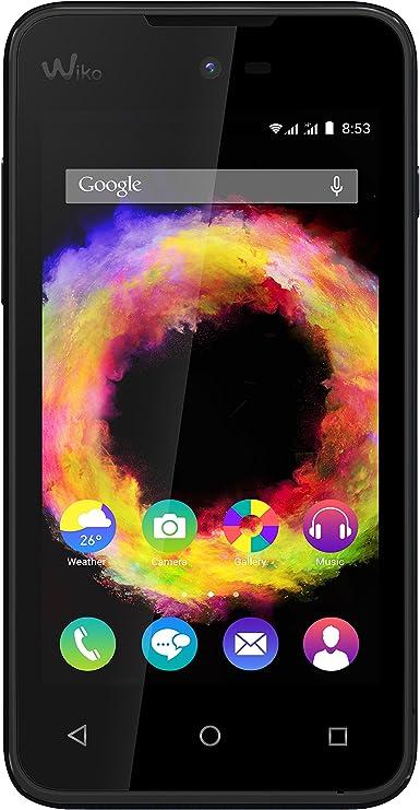 Wiko SUNSET2-BK - Smartphone de 4