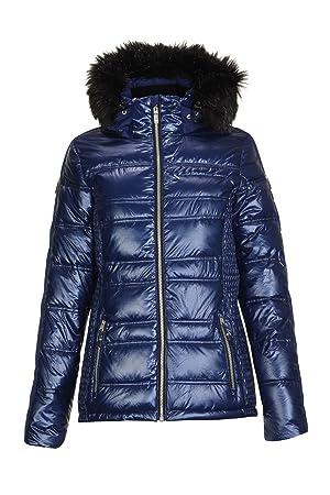 Killtec Mette Fashion Chaqueta de esquí con Capucha Desmontable y protección para la Nieve, Mujer