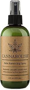 Cannabolish Smoke Odor Eliminator Spray and Air Freshener, 8 fl. oz, Natural Ingredients