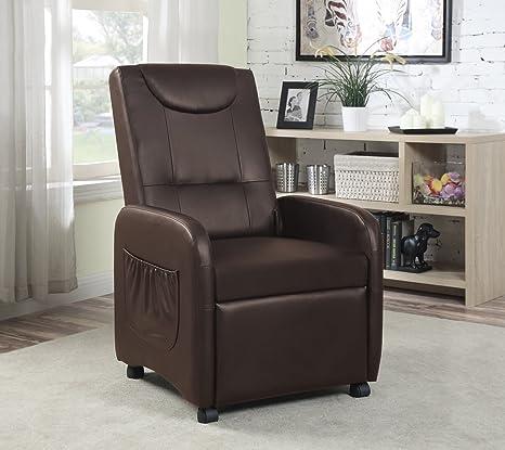 Amazon.com: hodedah Importación único silla reclinable ...