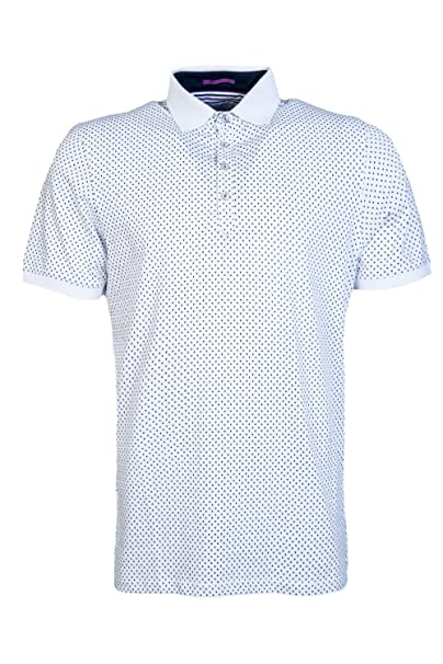 c80f54c65739aa Ted Baker Mens Short Sleeve Polo Shirt TH8M GB10 BOXER Size 6 White ...