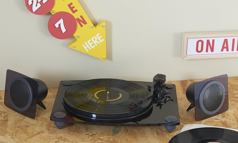 Bigben Interactive TD115NSPS Negro, Transparente tocadisco ...