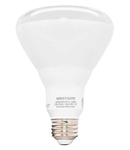 Westgate Lighting BR40 17W LED Light Bulb  Dimmable  Best LED Bulb For Home,
