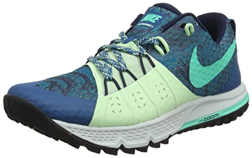 bb040b845fe Nike Women s Air Zoom Wildhorse 4 Running Shoe Green  Abyss Menta-Obsidian-Vapor
