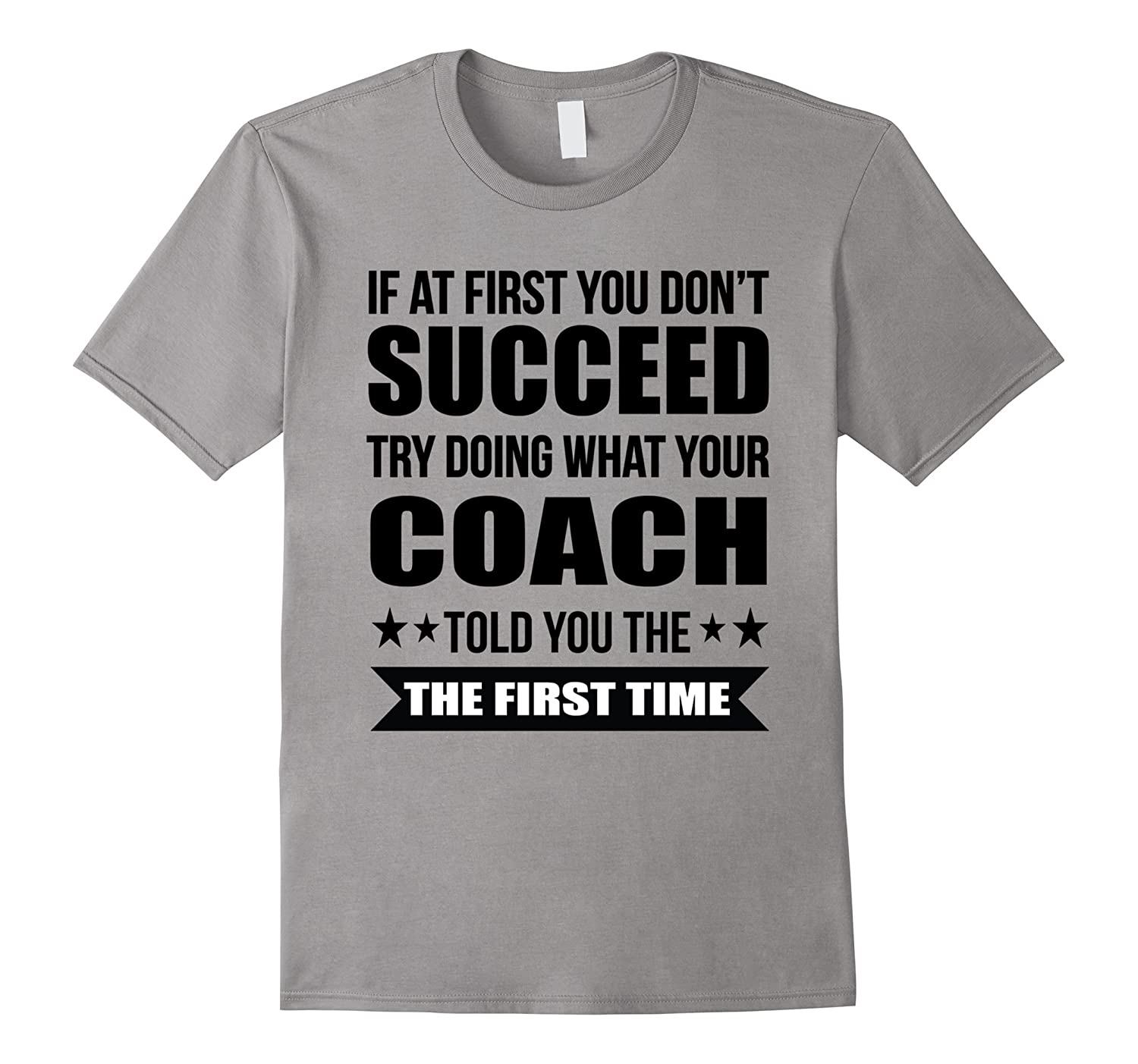 If At First You Dont Succeed Tshirt Soccer Players Tshirt-Vaci