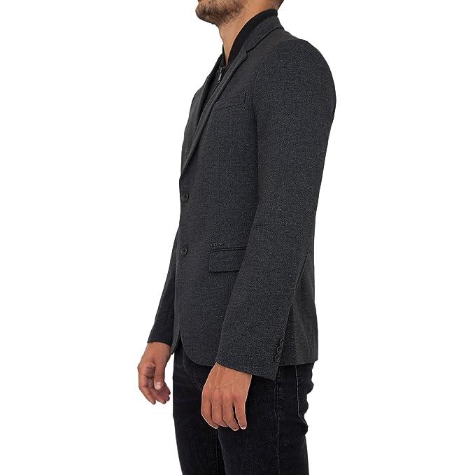 Guess jeans giubbotto uomo grigio