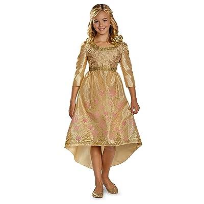 Disguise Disney Maleficent Movie Aurora Coronation Gown Girls Classic Costume, Medium/7-8: Toys & Games