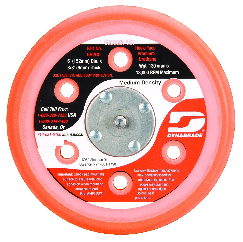 Dynabrade 56260 Vacuum Disc Pad, 6-Inch Diameter
