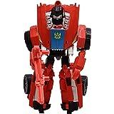 Toyzrin (Toyzrin 2in1 Deformation Bumper Robot Car Transformers Style Super Combin Assault Warrior (Seq D) Red)