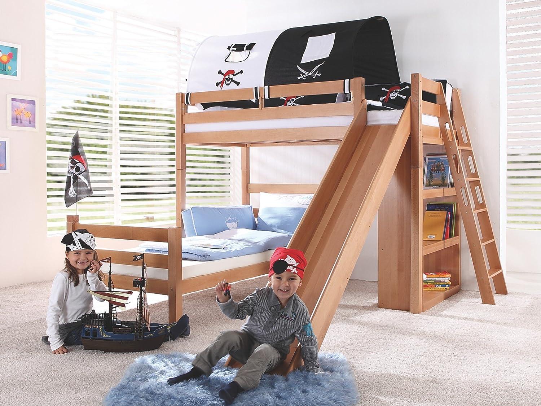 Etagenbett Denise : Kinderbett denis etagenbett hochbett Öko doppelstockbett bett
