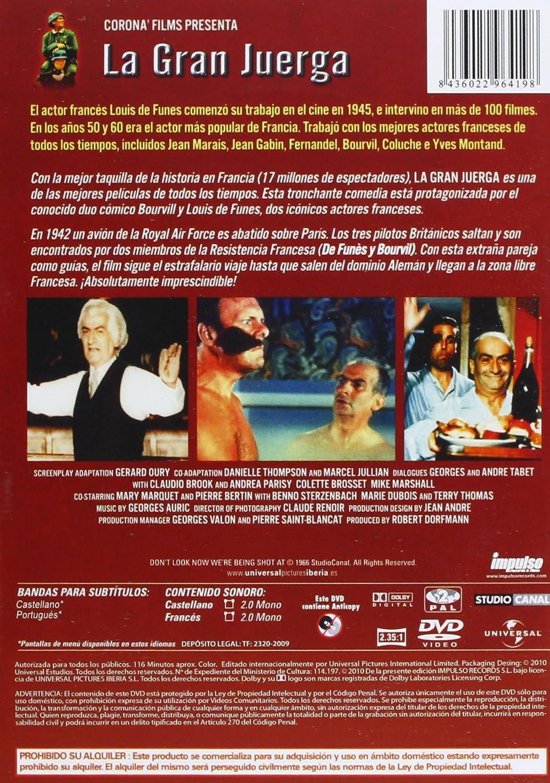 Amazon.com: La Gran Juerga (La Grande Vadrouille) (1966) *** (Import Movie) (European Format - Zone 2) ***: Movies & TV