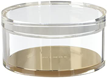 Kate Spade Acrylic Odds U0026 End Container, Strike Gold (175530)