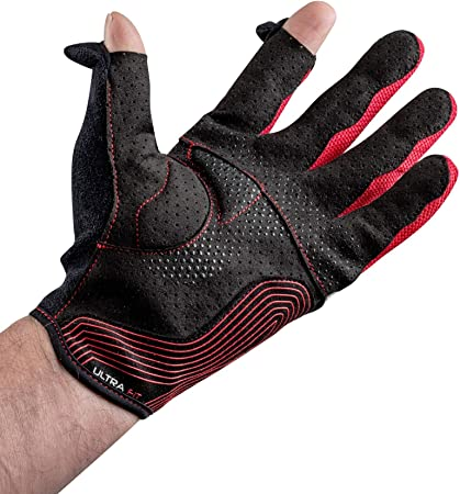 M Sparco 002094NRRS10 Gloves Black//red