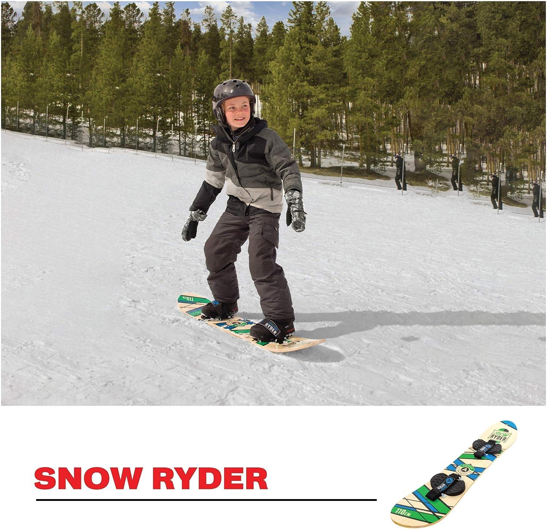 Amazon.com: Airhead Snow Ryder - Tabla de snowboard (madera ...