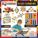 IQ BUILDER | STEM Learning Toys | Creative Construction Engineering | Fun Educational Building Blocks Toy Set for Boys and Gi