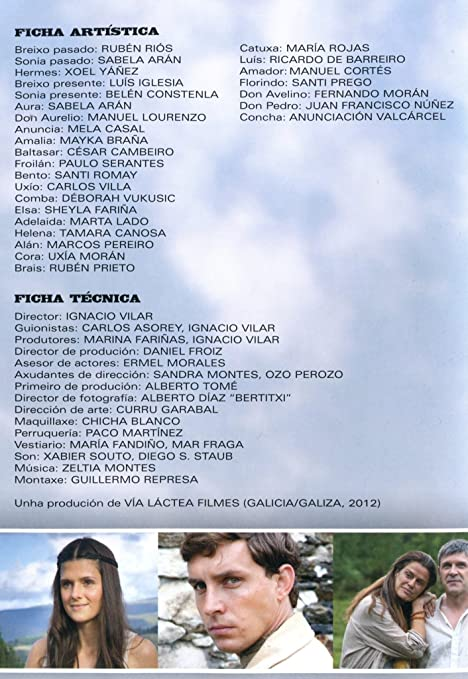 Vilamor [dvd]: Amazon.es: Rubén Riós, Sabela Arán, Mayka Braña, César Cambeiro, Xoel Yáñez, Ignacio Vilar: Cine y Series TV