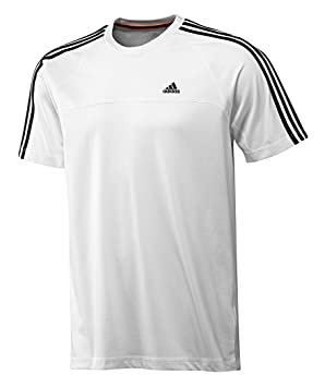 Adidas Ess 3S Climalite Sports Shirt Cotton Shirt T shirt