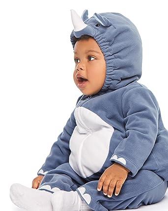 Carteru0027s Baby Boysu0027 Little Rhino Costume (3-6 Months ...  sc 1 st  Amazon.com & Amazon.com: Carteru0027s Baby Girl Little Unicorn Halloween Costume ...