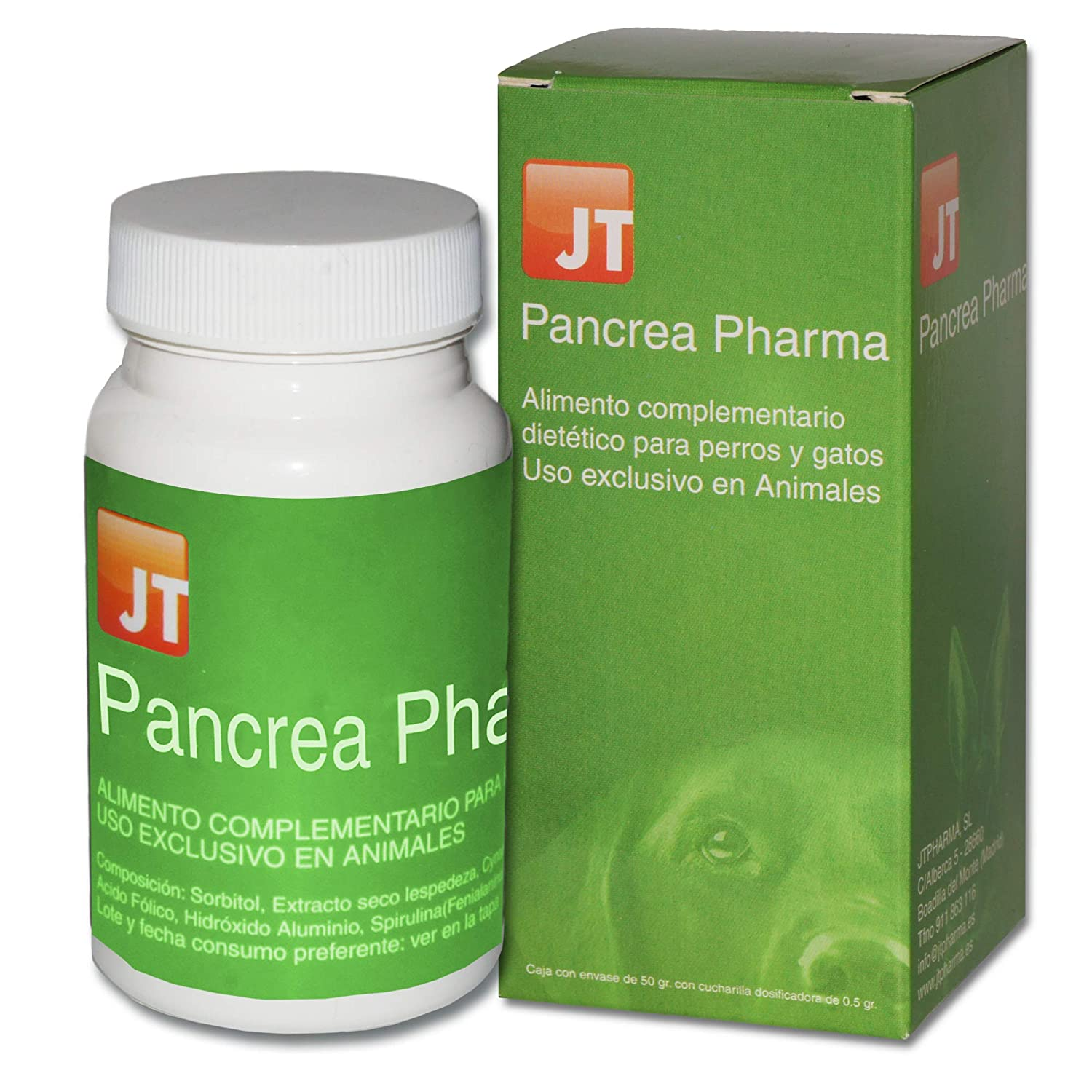 JTPharma 163106 Pancrea Pharma - 50 gr: Amazon.es: Productos ...
