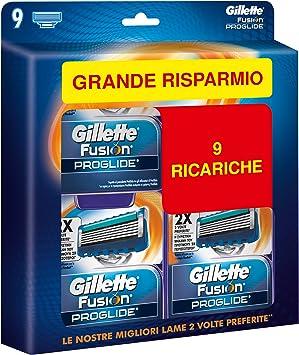Cabezales de repuesto para afeitadora Gillette – 9 recambios: Amazon.es: Salud y cuidado personal