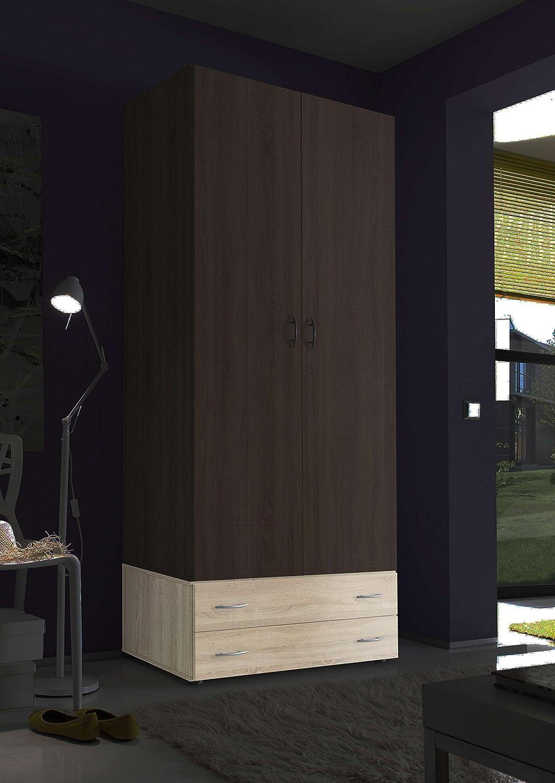 AVANTI TRENDSTORE - Balu 2 - Componimento per armadio, disponibile in 2 colori diversi, ca. 80x33x52 cm (Marrone)
