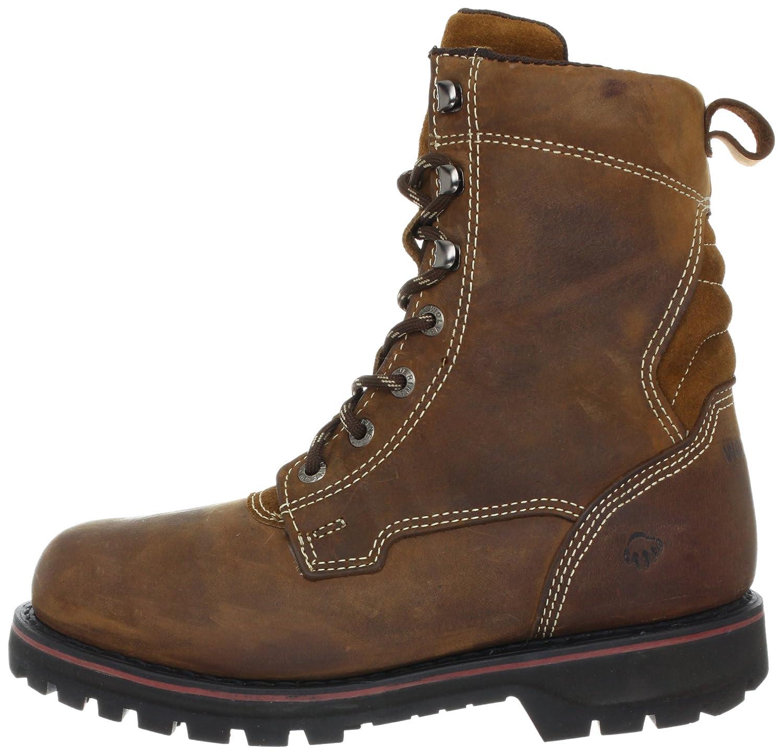 f3b1294cf27 Wolverine Men's Malone 8 Inch Work Boot