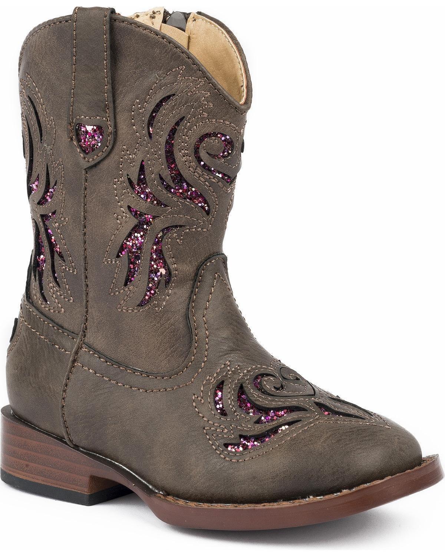 Roper Boot ' Glitter Breeze Western Boot Roper B0783PLNNX 6|Brown 1e39db